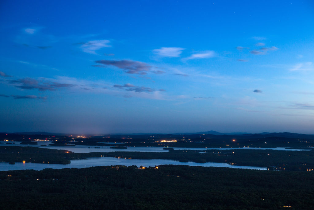 Blue Hour Over the Lake