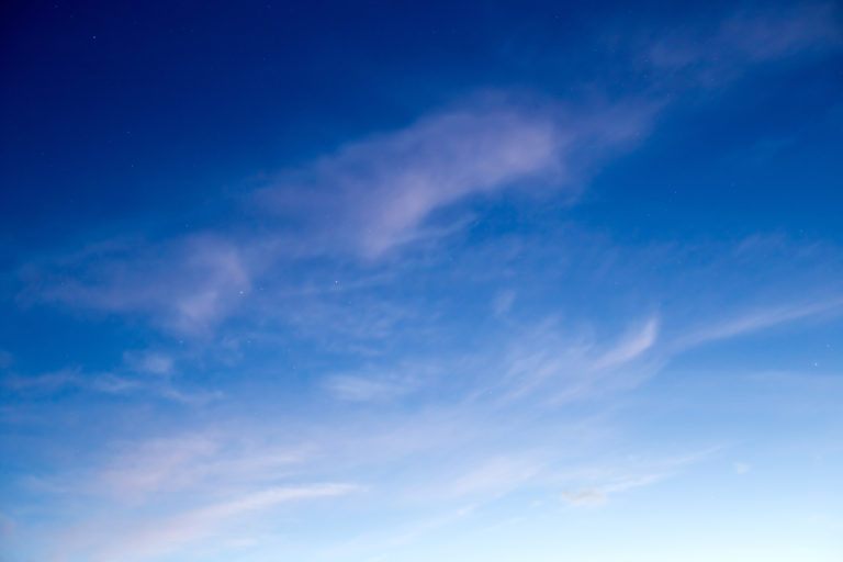 Painted Blue Sky