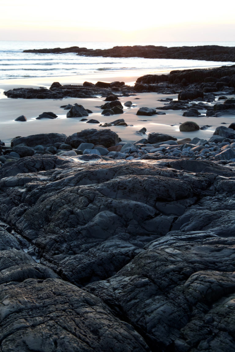 Early Morning Rocky Beach