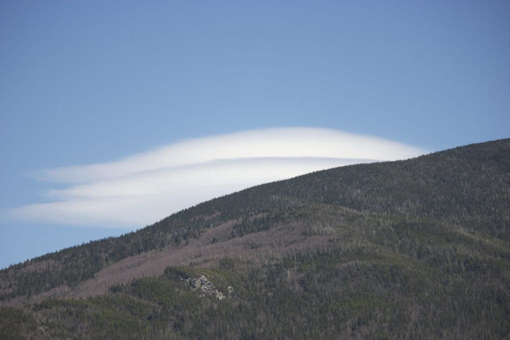 Flowing Mountain Clouds