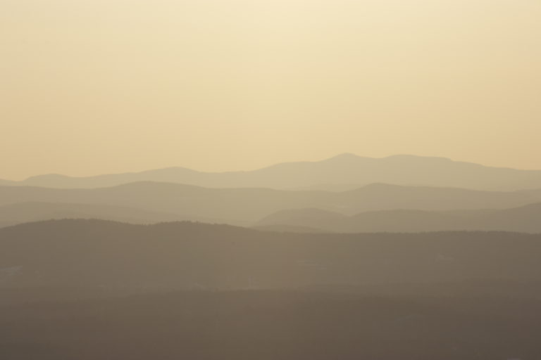 Soft Mountains in the Far Distance