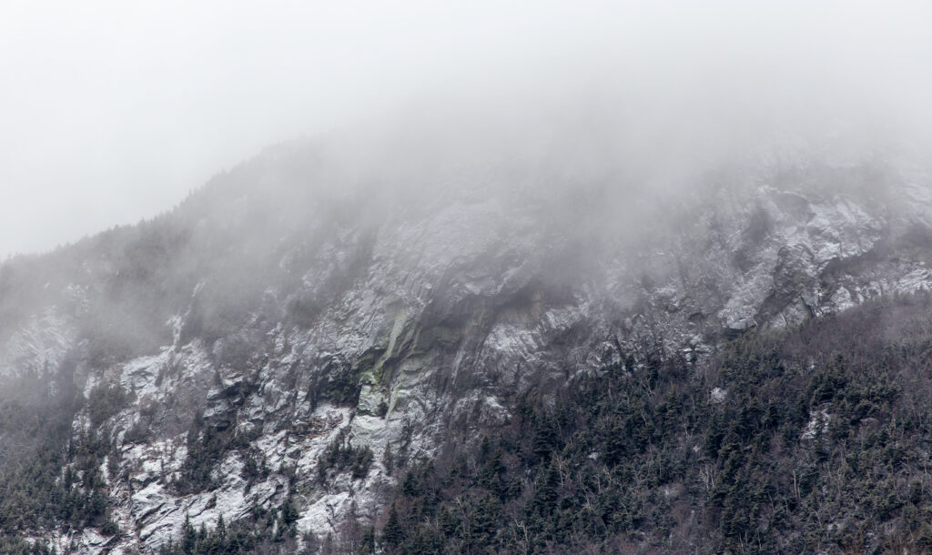 Chilly Winter Mountain