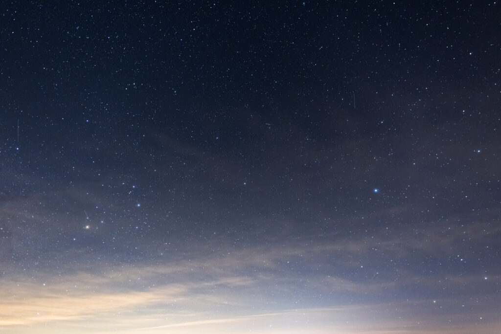 Faint Clouds and the Milky Way