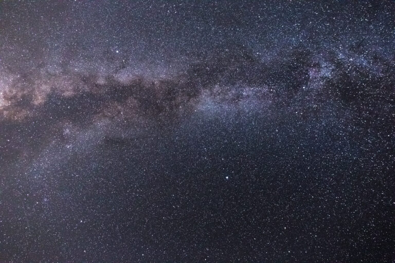 Arching Milky Way
