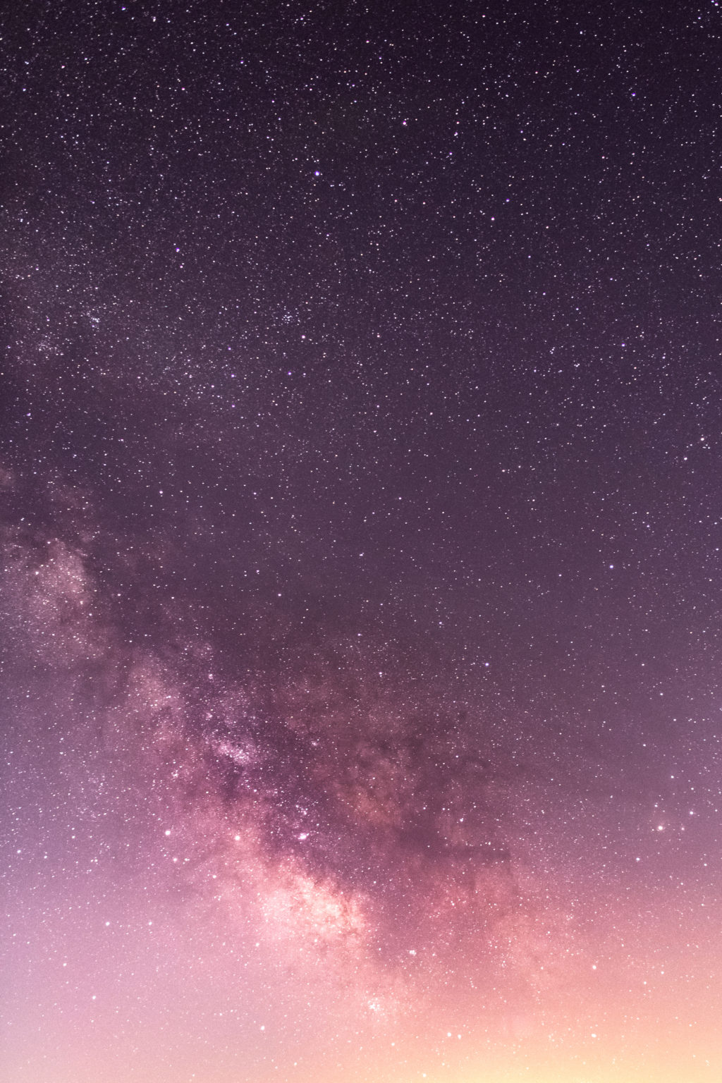 Pink Milky Way
