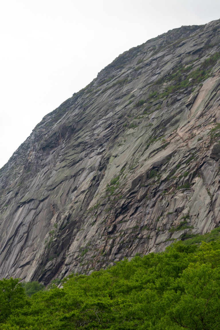 Steep Rocky Mountainside