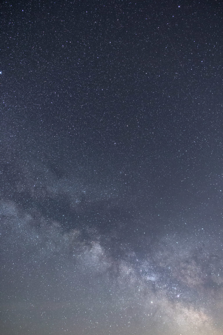 Diagonal Milky Way