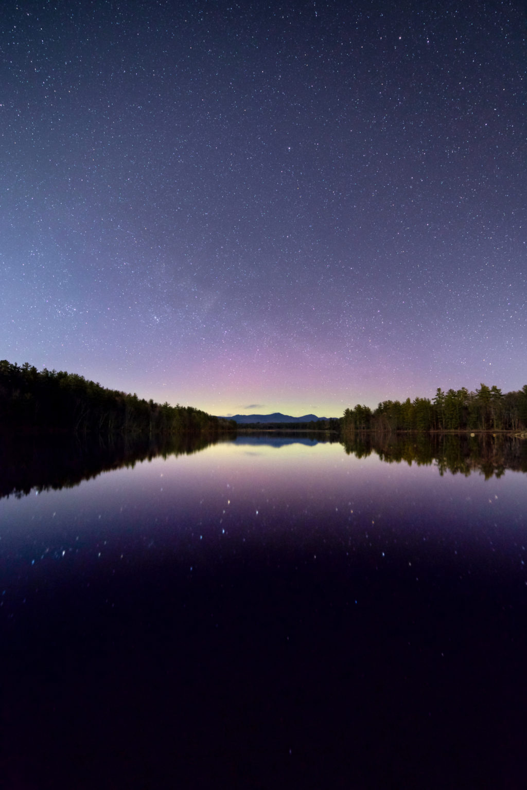 Northern Light Reflections