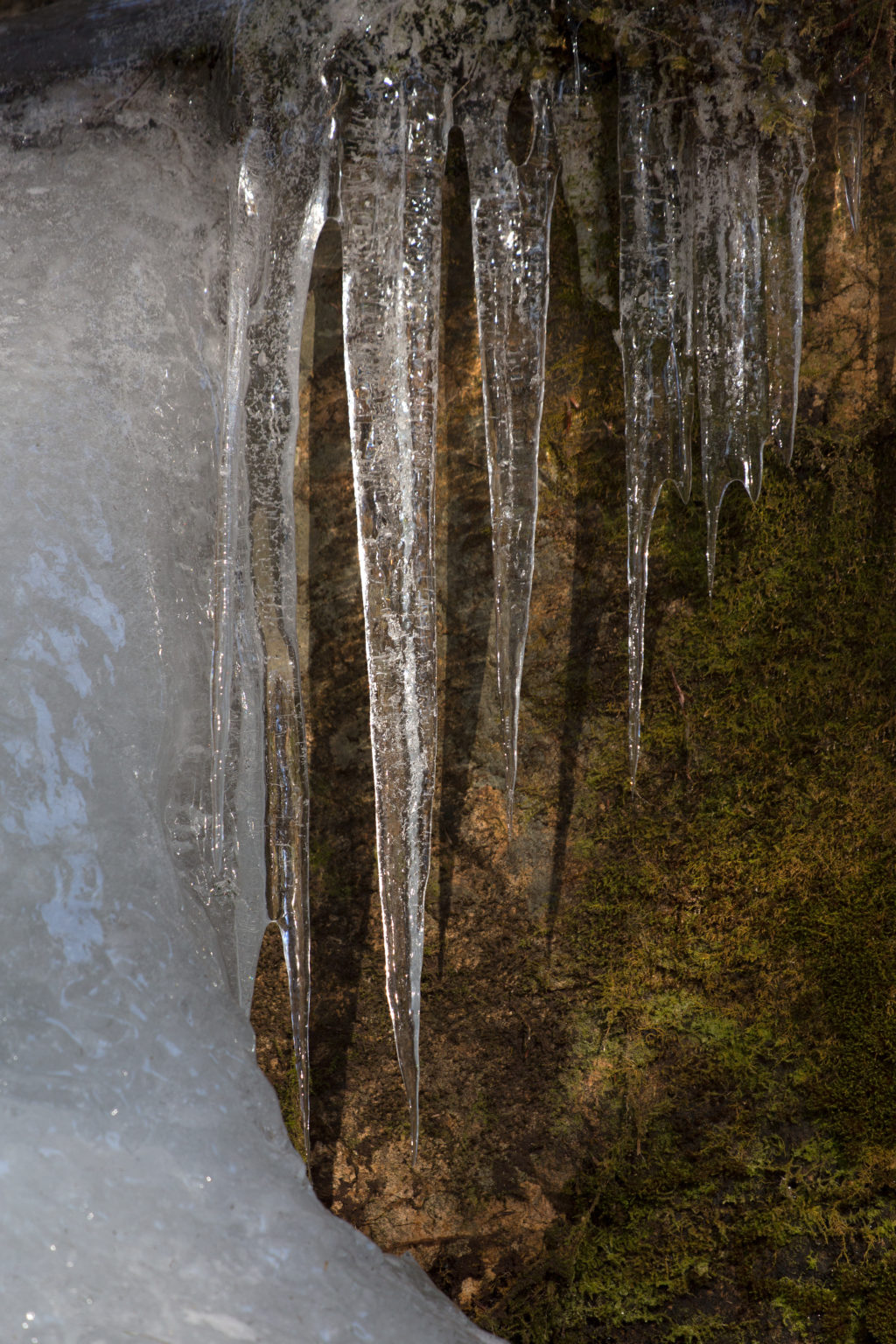 Descending Icicles
