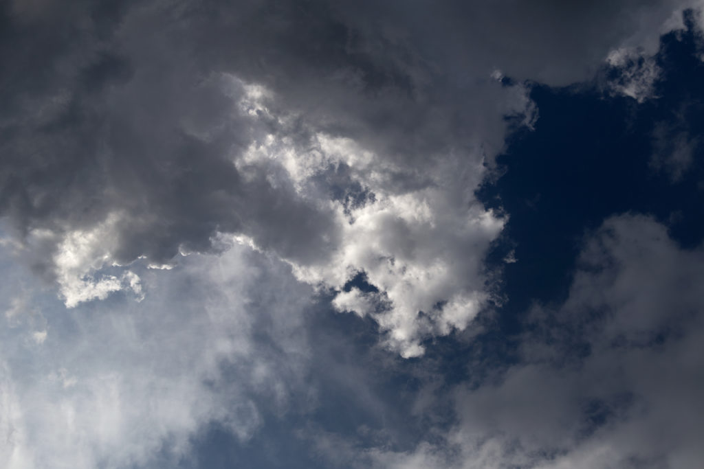 Contrasting Clouds
