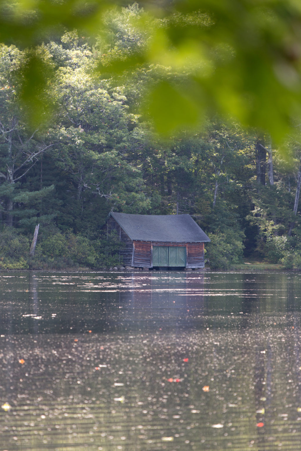 Old Cabin on Water's Edge