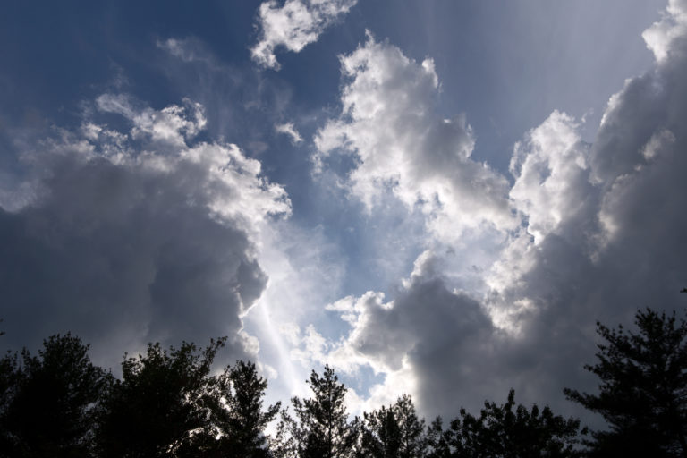 Silhouetted Clouds