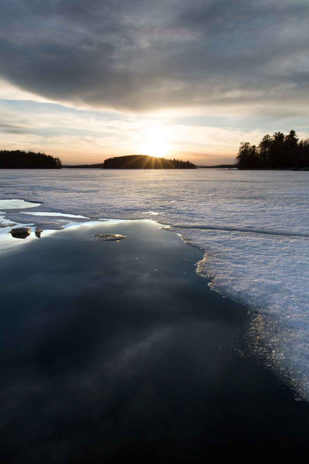 Sunset on Thin Ice